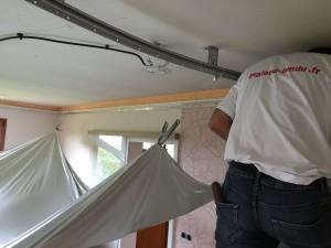 Montage - plafond-tendu