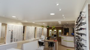Salon opticien - plafond-tendu